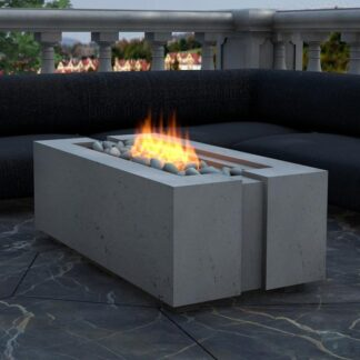 cleopatra fire table grey